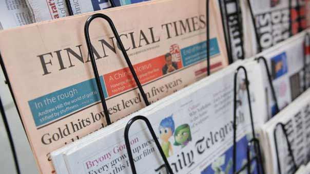 الصحف الأجنبية