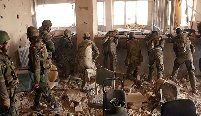 دحر هجمات متتالية للتكفيريين على كليات عسكرية في حلب