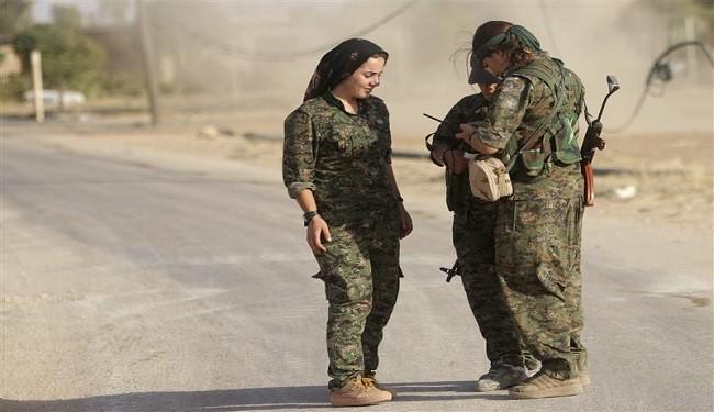 المقاتلات الكرديات