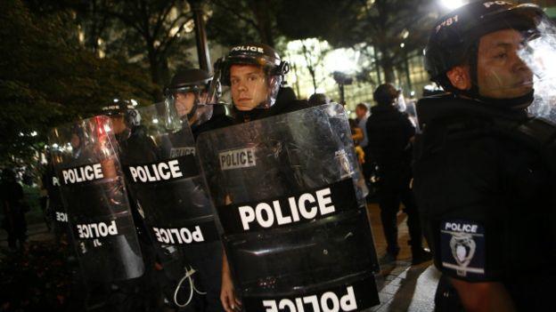 اعلان حظر التجول في مدينة شارلوت الأميركية