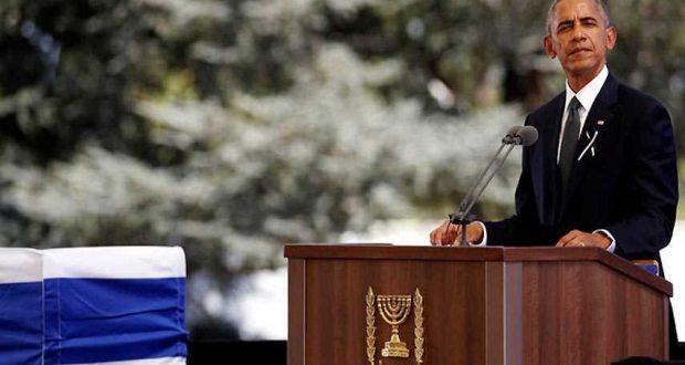 ماذا قال #أوباما لـ #عباس حينما رآه بجنازة #بيريز؟