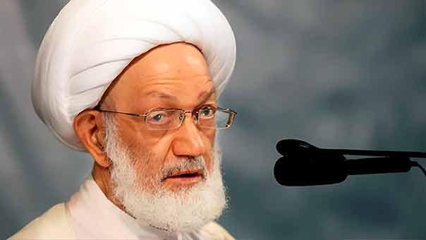 المعارضة البحرينية تحمل النظام مسؤولية سلامة آية الله قاسم بعد قطعه التواصل معه والوصول إليه