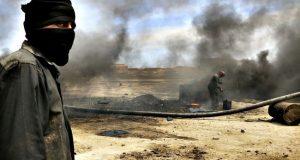 #داعش تعدم 9 من عناصرها حرقا في #الموصل