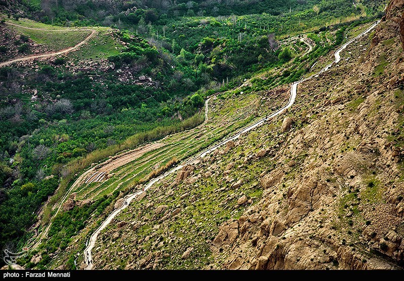 بالصور . . . منطقة ريجاب في محافظة كرمانشاه