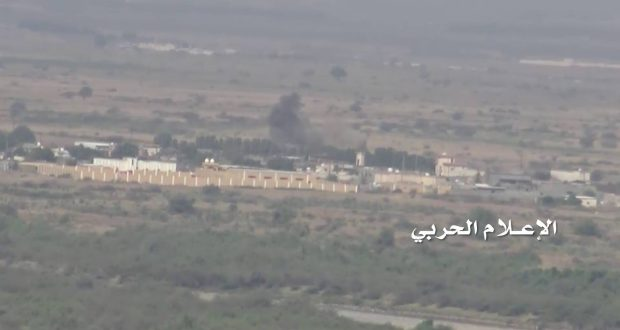 #اليمن: #الإعلام_الحربي يوزع مشاهد لاستهداف موقعي أبو المض والمعزاب بـ #جيزان