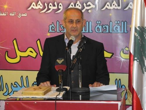رئيس اتحاد بلديات جبل عامل علي الزين