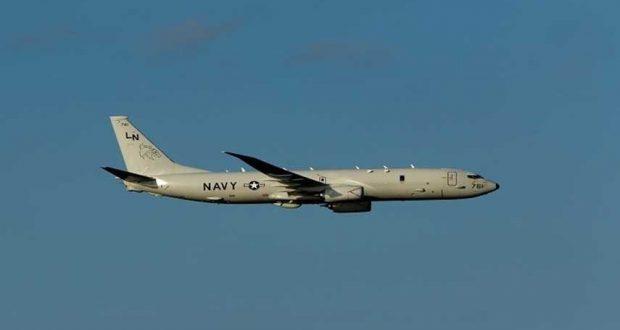 طائرة تجسس أمريكية تحلق بالقرب من القواعد الروسية في سوريا