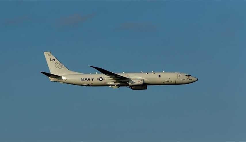 """طائرة تجسس أمريكية من طراز """"P-8A"""""""