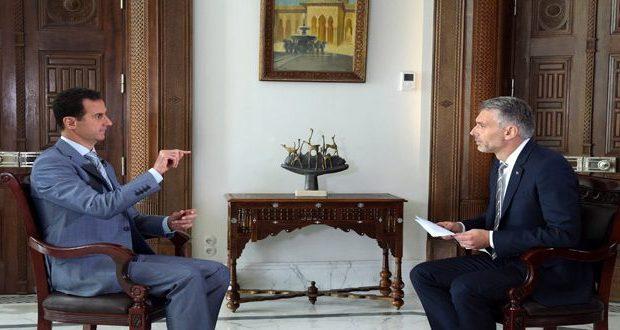 #الرئيس_الأسد: حماية المدنيين في #حلب تتطلب التخلص من الإرهابيين وهذه مهمتنا طبقا للدستور والقانون