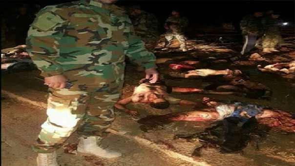 جثث المسلحين