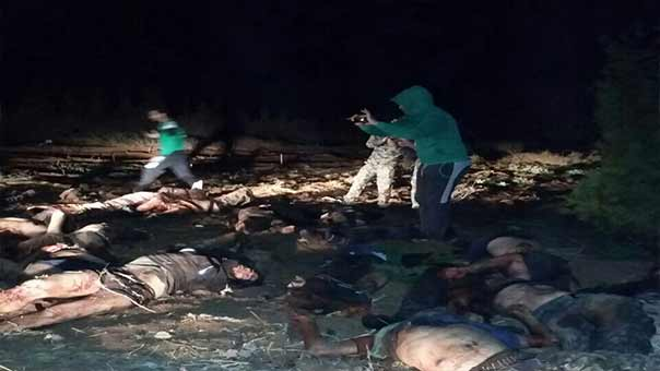 مسلحو المجموعات التكفيرية في درعا