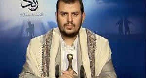 الحوثي: عدوان النظام السعودي على اليمن جزء من مخطط يهدد أمن الكثير من الدول الاسلامية