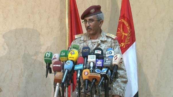 الجيش اليمني ينفي سيطرة تحالف العدوان على مواقع بصرواح