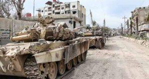 احباط هجوم في ريف حماه وتواصل خروج المسلحين من معضمية الشام