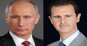 #بوتين لـ #الأسد: موقفنا ثابت بمحاربة الإرهاب والحفاظ على وحدة #سوريا
