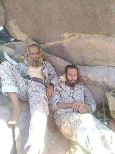 #اليمن : مصرع عشرات المرتزقه بينهم قيادات في #تنظيم_القاعدة خلال محاولة تقدم باتجاه منفذ البقع