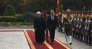 الرئيس روحاني يستقبل رئيس مجلس الرئاسة البوسني رسميا