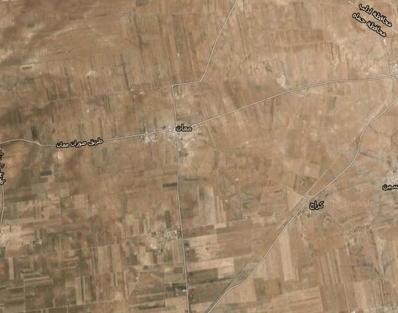 #الجيش_السوري يستعيد بلدة #معان في #ريف_حماه