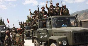 الجيش السوري يحرر سلسلتي جبال الحزم الشرقية والغربية في ريف حمص الشرقي