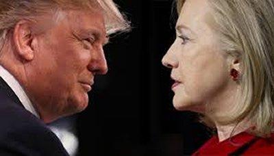 #ترامب يتقدم على #كلينتون بفارق طفيف في أحدث استطلاعات الرأي