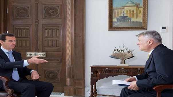 #الأسد: فلتدع القوى الأجنبية #سوريا وشأنها ونرتب البيت الداخلي ببضعة أشهر