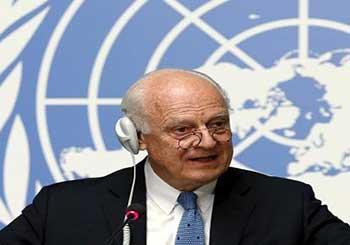 دي ميستورا يبدأ إرسال دعوات الحضور لمحادثات جنيف الخاصة بالازمة السورية