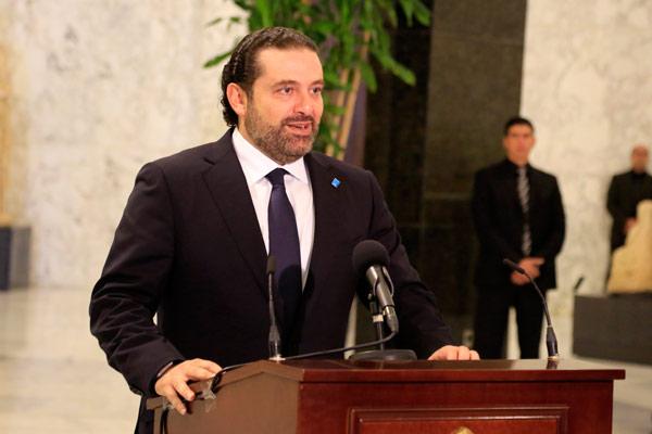 #لبنان : الرئيس #ميشال_عون يكلف #الحريري رسمياً تشكيل الحكومة