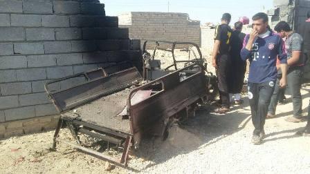 استشهاد وإصابة 12 شخصا في #تفجير_انتحاري بمحافظة #كربلاء