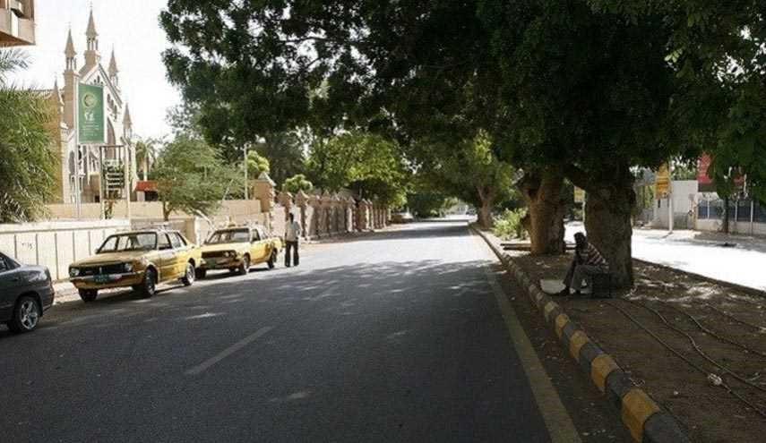 شوارع الخرطوم خالية