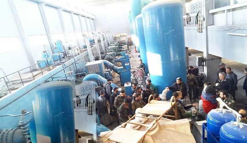 #الجيش_السوري يسيطر على محطة ضخ المياه بحي سليمان الحلبي