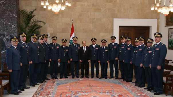 رئيس الجمهورية يلتقي رؤساء الاجهزة الامنية