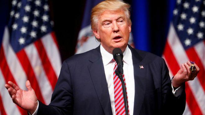 ترامب يؤكد ان روسيا لم تحاول مطلقا ممارسة أي ضغوط عليه
