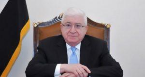 """معصوم: اعادة اعمار الموصل مهمة وطنية ويجب رص الصفوف لمرحلة ما بعد """"داعش"""""""