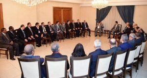 الأسد لوفد اتحاد المحامين العرب: أعداء سوريا فشلوا في ضرب البنية الاجتماعية القوية للمجتمع