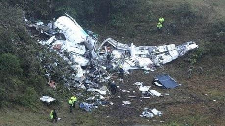 الكشف عن سبب تحطم الطائرة في #كولومبيا