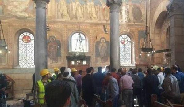"""مصدر أمني مصري : انتحاري كنيسة القاهرة ينتمي لـ""""داعش"""""""