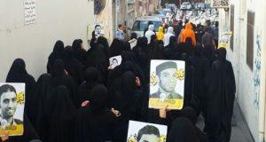 البحرين: احتجاجات متواصلة لليوم الثامن على التوالي تنديداً بإعدام السلطات الشبان الثلاثة