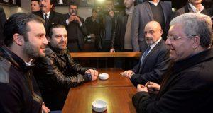 """الحريري والمشنوق والصراف من """"الكوستا"""": التهديد الإرهابي موجود لكن لبنان بخير"""