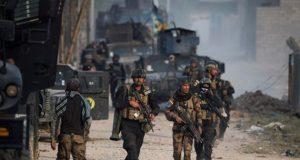 القوات العراقية تتقدم باتجاه جامعة الموصل
