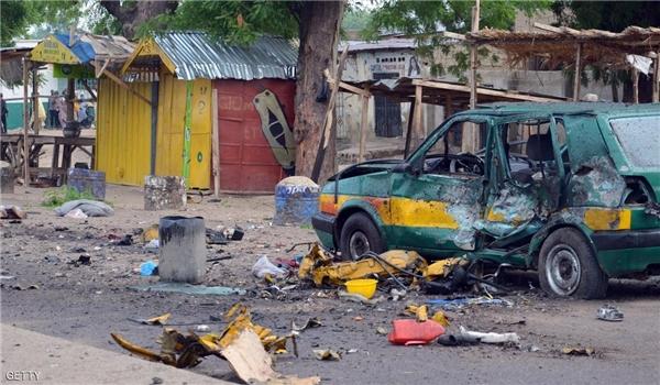 """""""طفلة انتحارية"""" كادت تفتك بالعشرات في نيجيريا"""