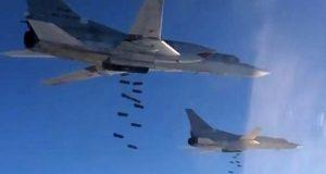 لأول مرة غارات مشتركة لروسيا والتحالف الدولي ضد داعش في سوريا