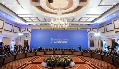إنتهاء اليوم الأول من محادثات أستانة حول سوريا دون تحقيق اختراق
