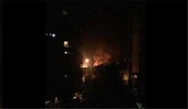 طائرات إسرائيلية تعتدي على مواقع عسكرية في مطار المزّة غرب دمشق