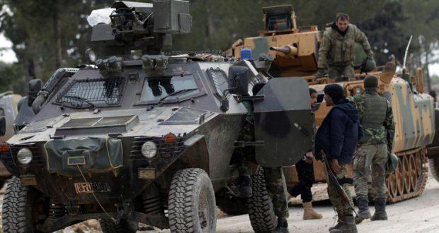 """تركيا: أنشأنا قاعدة عسكرية في """"الباب"""" وهذا هدفها"""
