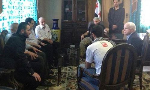 قراءة في زيارة جون ماكين إلى شمال سوريا