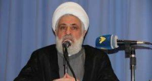 """الشيخ قاسم: على مكونات الامة التعاون مع ايران بمواجهة الغدة السرطانية """"إسرائيل"""""""