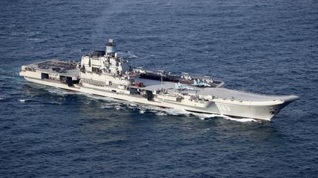 """عشرات سفن الناتو رافقت """"كوزنيتسوف"""" في رحلتها إلى سوريا ومنها"""