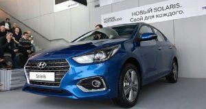 بدء إنتاج سيارات سولاريس الجديدة في روسيا
