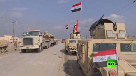 وحدات الجيش العراقي تنتشر غربي نهر دجلة