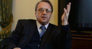 """بوغدانوف: اتهامات علوش لروسيا """"هراء مطلق"""""""
